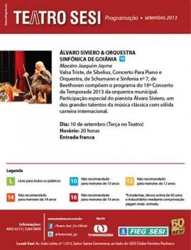 teatro sesi do dia 10.09.2013