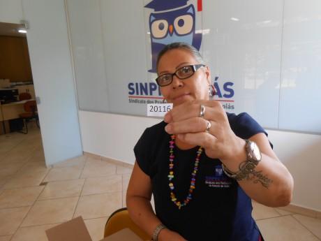 Professora contemplada é Sandra Rosada Silva Abreu, do Colégio Desafio