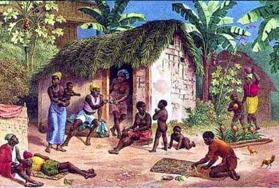 Pintura do Quilombo Palmares