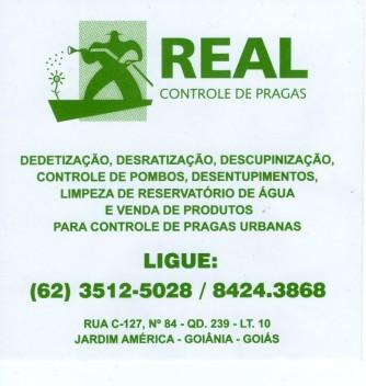 Real Controle de Pragas