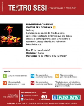 teatro sesi dia 15.05.2014