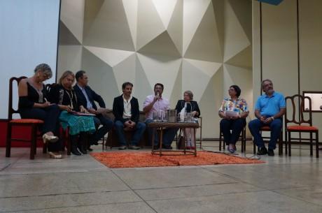 Presidente do Sinpro Goiás participa da abertura