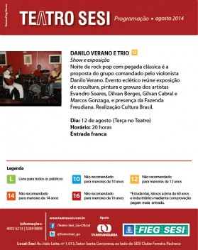 teatro sesi dia 12.08.2014
