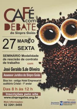 CAFE COM DEBATE