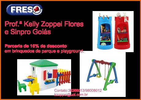 Kelly e Sinpro Goiás parceria