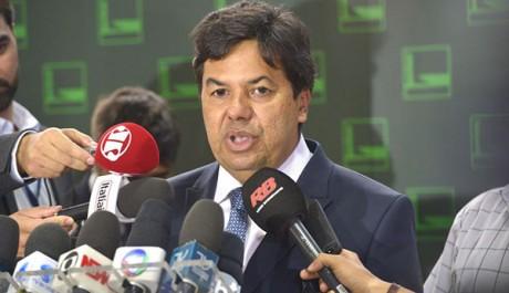 Brasília - Deputado Mendonça Filho fala sobre decisao do presidente interino da Câmara, Waldir Maranhão que anula votação do processo de impeachment de Dilma na Câmara (José Cruz/Agência Brasil)