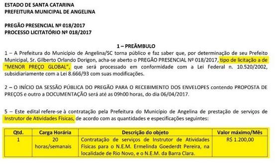 SINPRO GOIÁS - PREGÃO00001