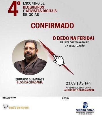 SINPROGOIAS- 4º ENCONTRO DE BLOGUEIROS 00001
